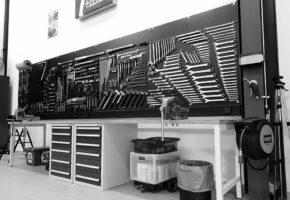 Werkzeug-Wand